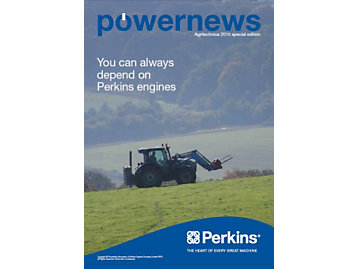 Powernews Agritechnica Special Edition - Front cover