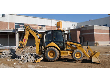 Case Studies: Backhoe loader