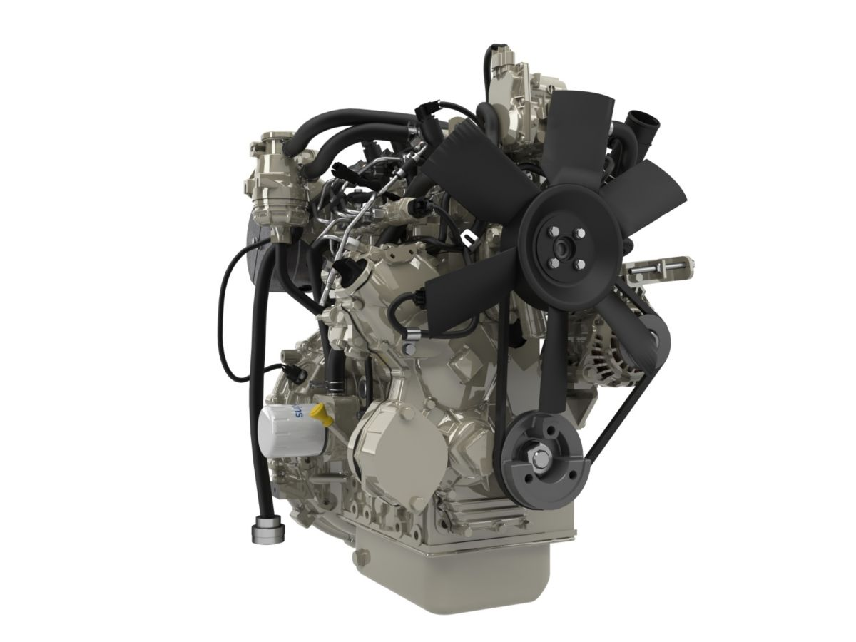 New compact 403F-E17T engine announced at Agritechnica 2015
