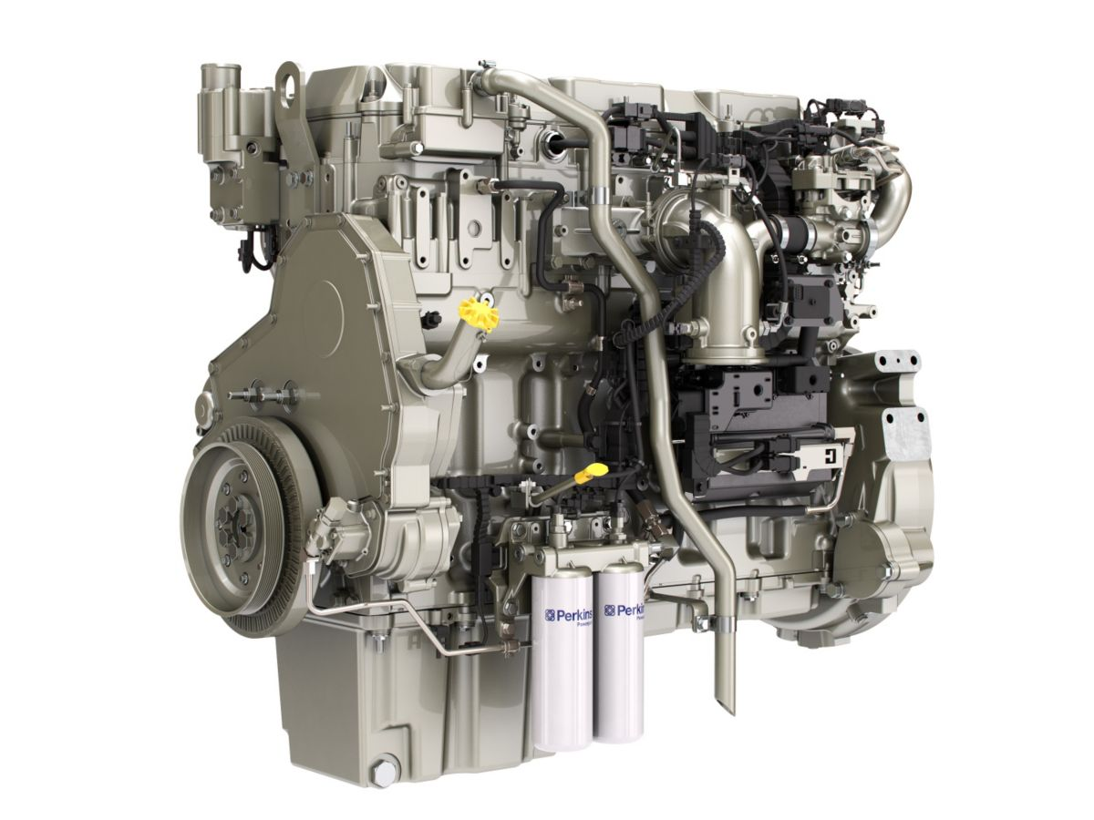 New 12.5 litre variable speed engine from Perkins