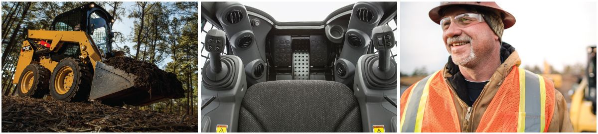 D Series Loaders Hand and Foot Controls