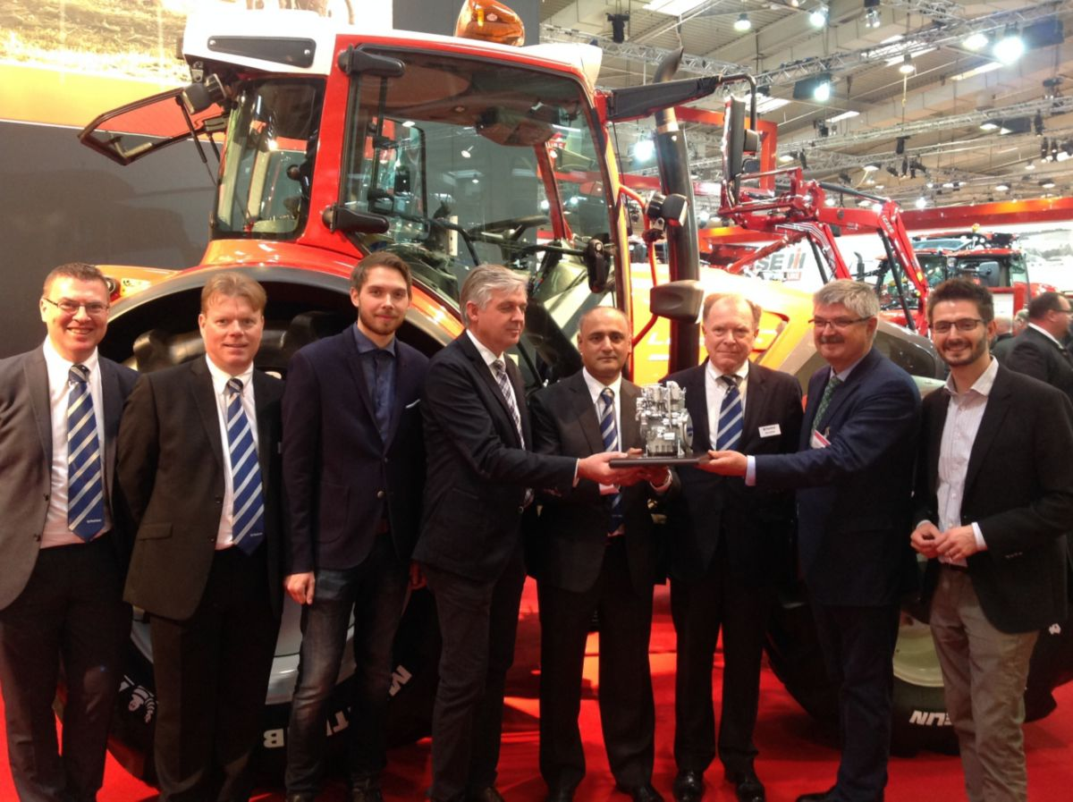 Perkins marks 50+ years of Lindner relationship at Agritechnica