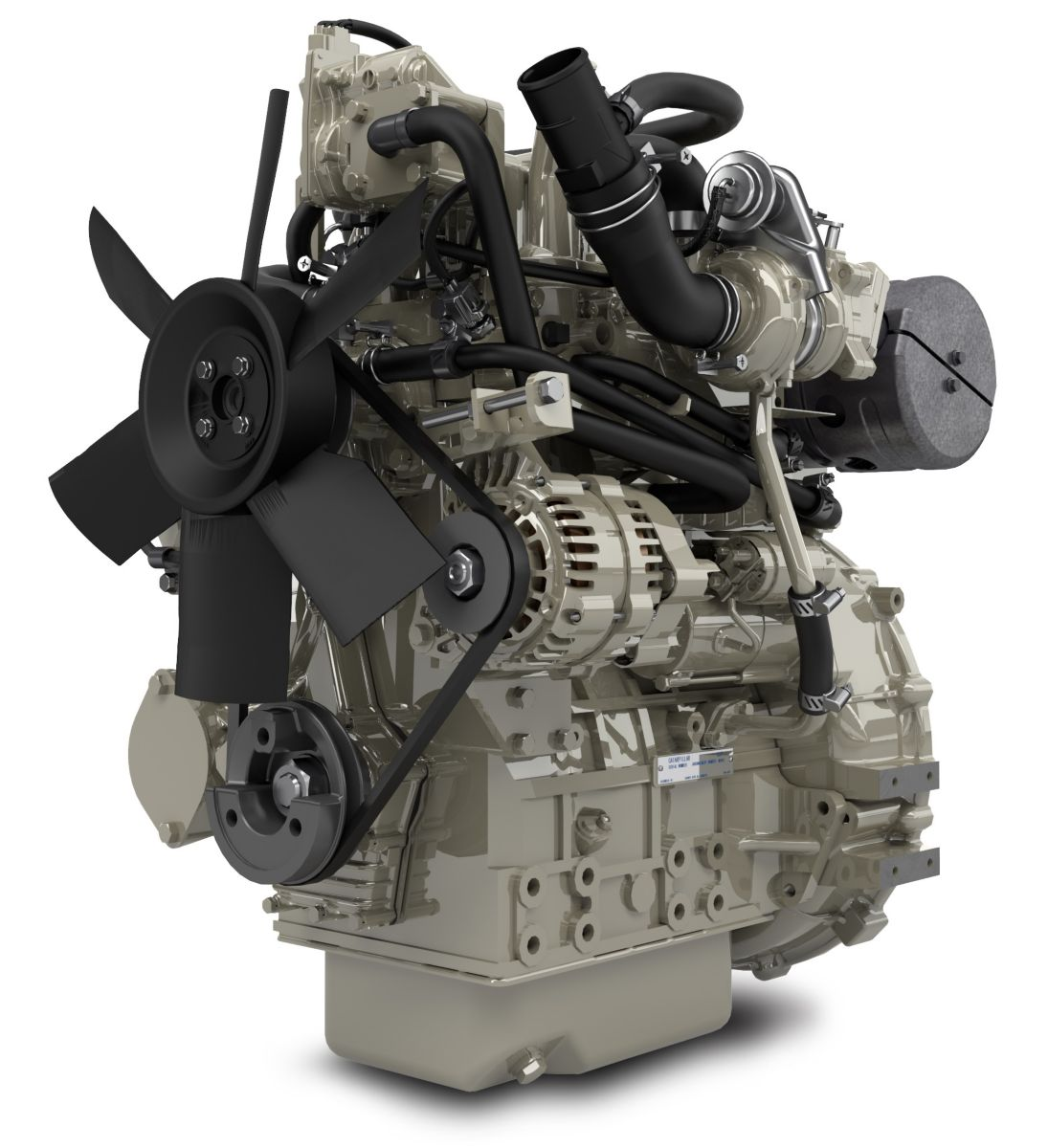 Perkins engines on show at LAMMA 2016