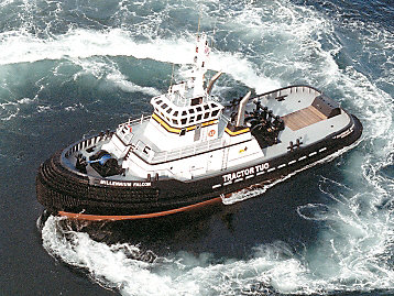 Caterpillar Powers the Tug and Salvage Industry
