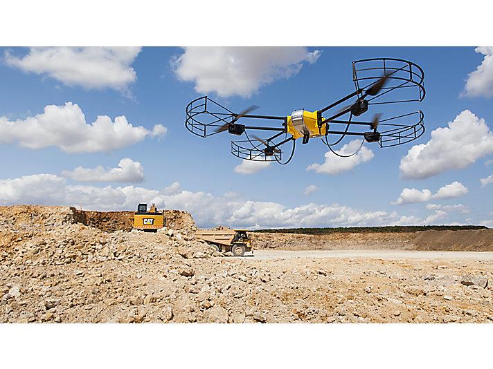 卡特彼勒与无人机公司合作,进行数据收集和分析