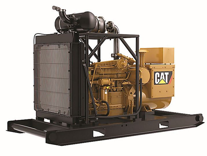Cat generator sets are designed to stand up to the harsh conditions of the oilfield.