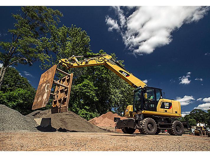 Excavadora de Ruedas M316F