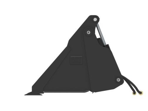 1524 mm (60 in) w/Spill Guard, Bolt-On Cutting Edge - Multi-Purpose Buckets