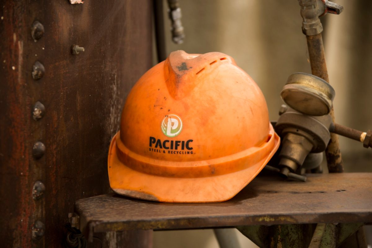 "Pacific Steel & Recycling's 46 locations sell new steel products, too. ""We're a full cycle company,"" says Patrick Kons."