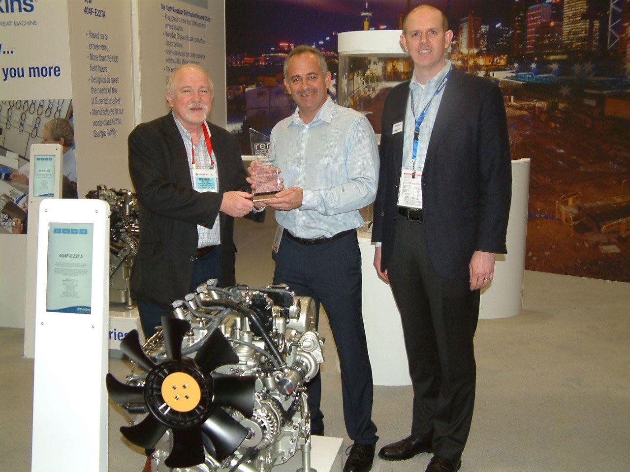 Perkins wins Rental Equipment Register magazine's Innovative Product Award