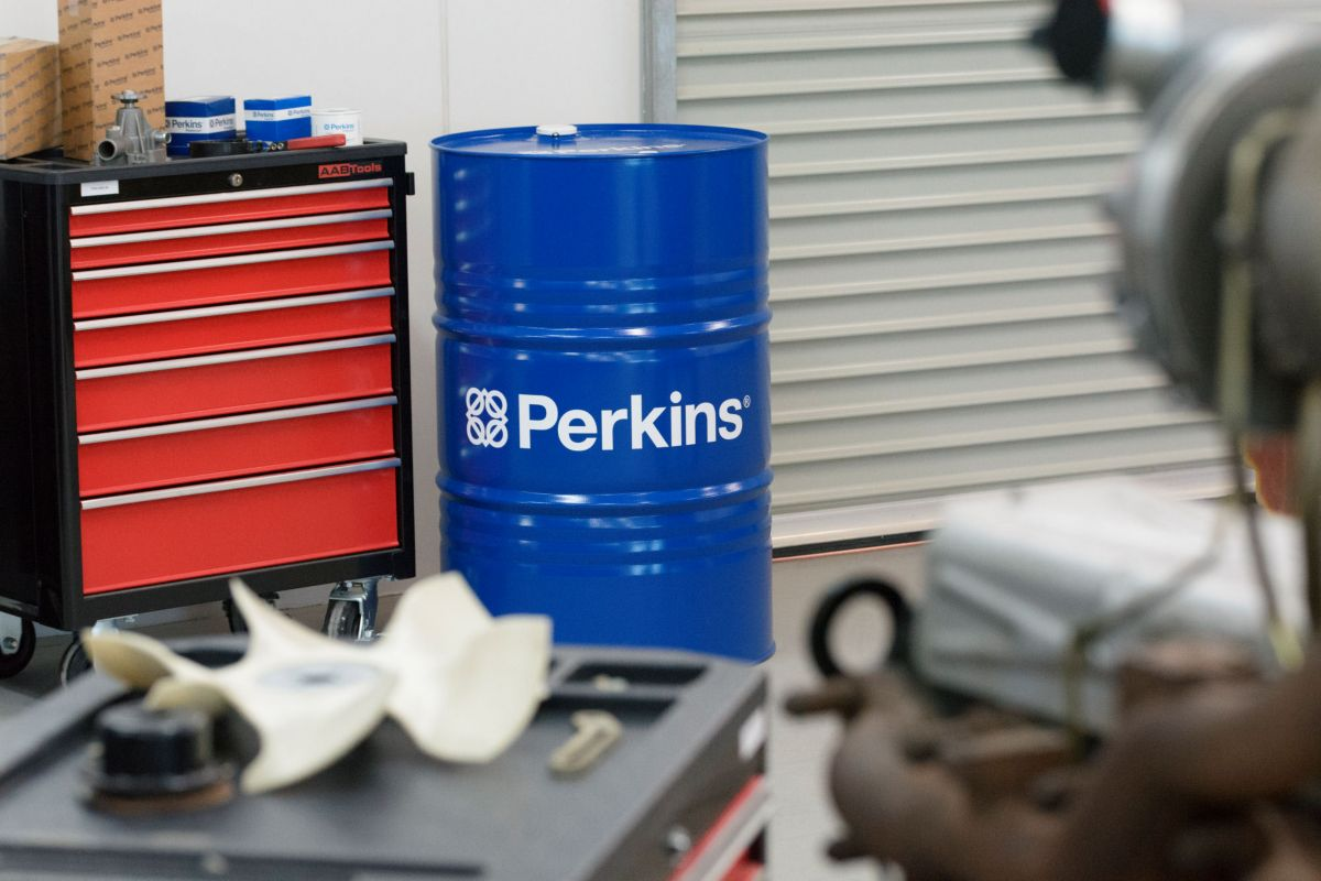 Engines benefit from good quality oil – Perkins Diesel Engine Oil