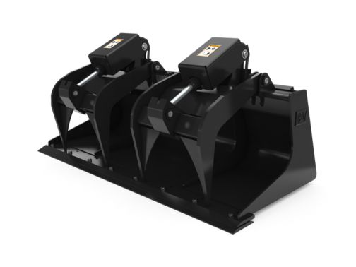 1676 mm (66 in), Bolt-On Cutting Edge - Industrial Grapple Buckets