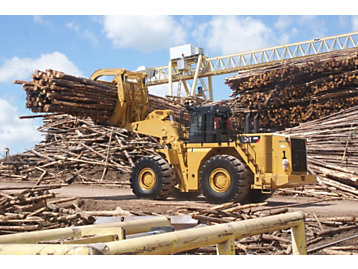 Cargadores de Ruedas para la Industria Forestal y Aserradero