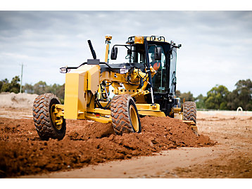 cat motor grader operator training caterpillar