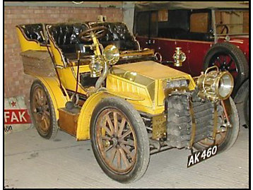 Turner Steam Car