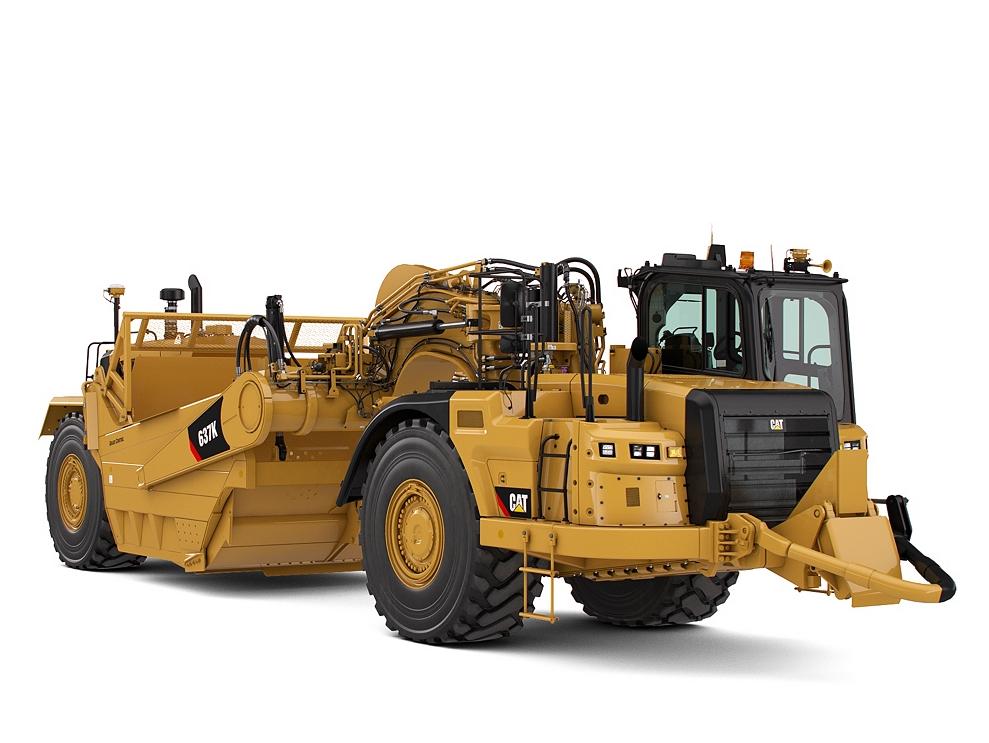 Cat Power Wheels Tractor : New k wheel tractor scraper for sale whayne cat