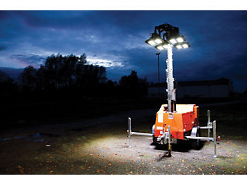 Extra low voltage lighting tower is high on power and quality
