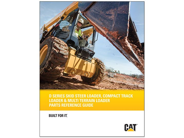 Cat D Series Parts Reference Guide Brochure