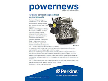 Powernews Bauma Special Edition - Front cover