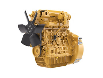 C3.4B Tier 4 Diesel Engines - Highly Regulated