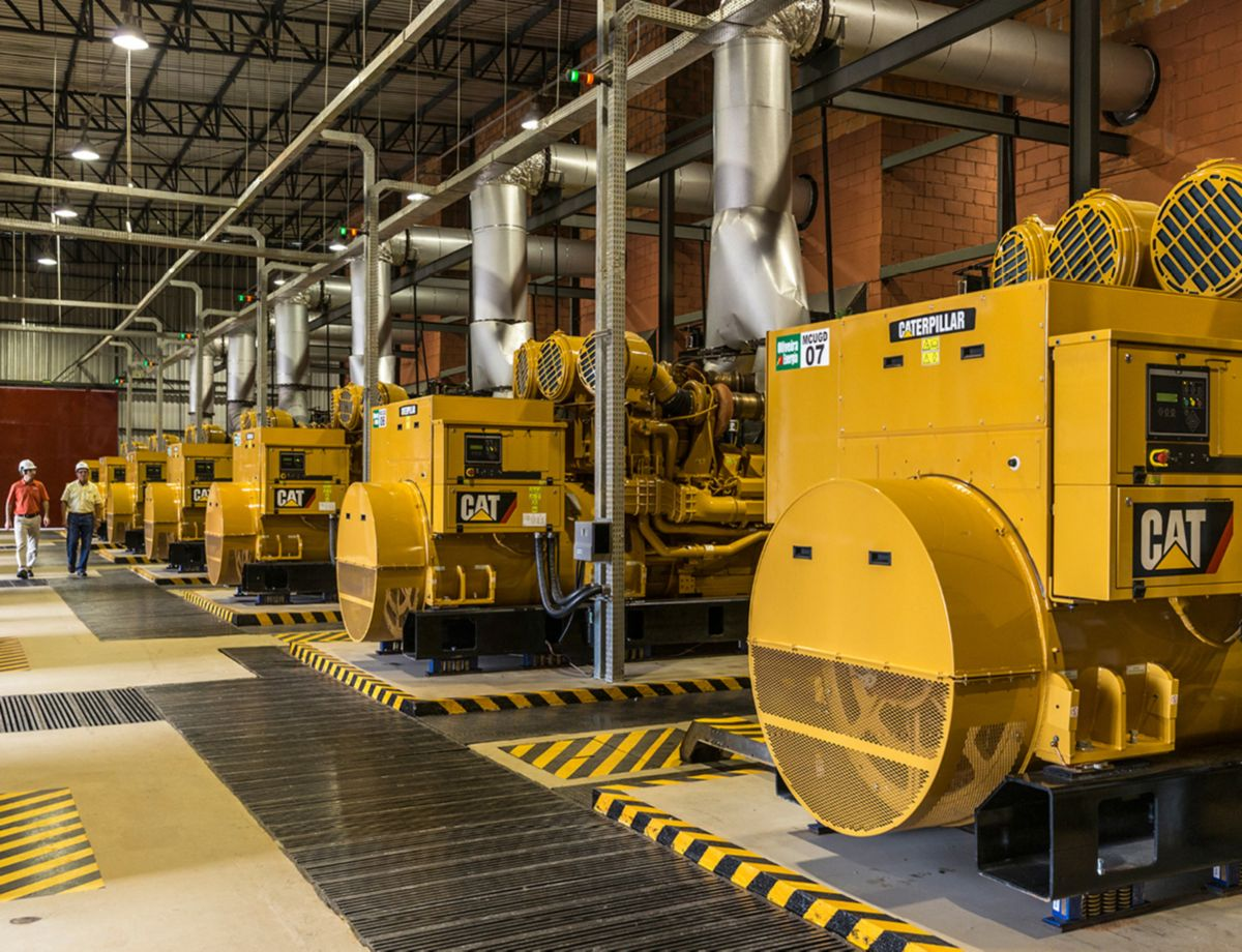 Supplying 3150 kW of gross power in continuous power applications, the Cat C175-20 generator set requires less maintenance and provides the highest power density of any single high-speed diesel generator set available on the market today.