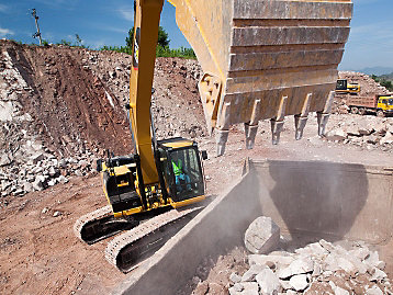 Caterpillar Excavator Buckets Truck Match