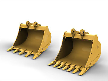 Caterpillar Excavator Buckets Tooth Spacing