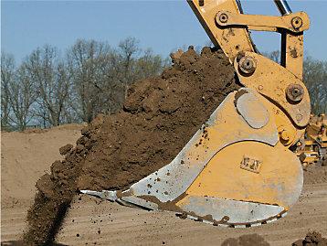 Caterpillar Excavator Buckets Size
