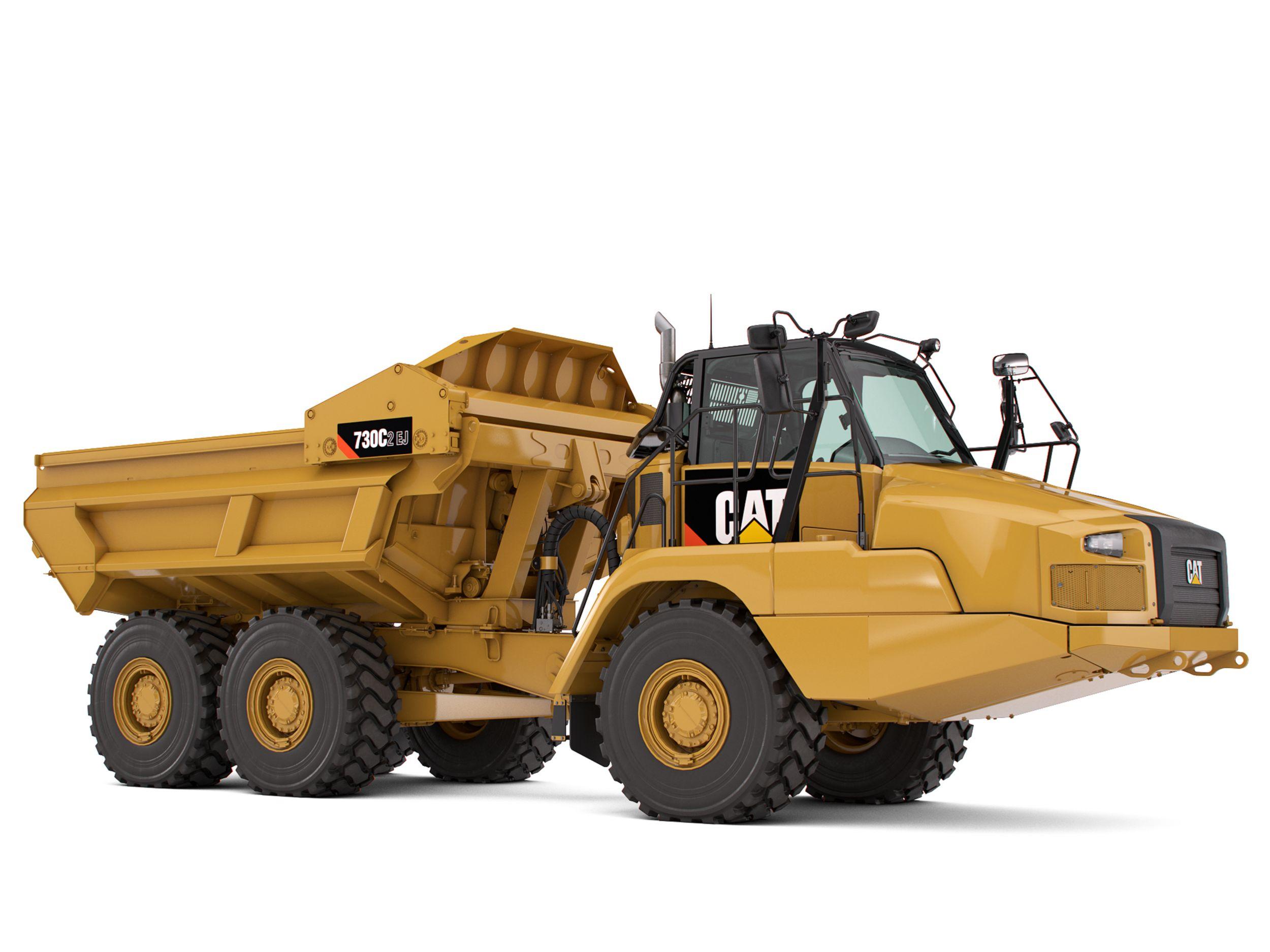 730C2 EJ Articulated Truck