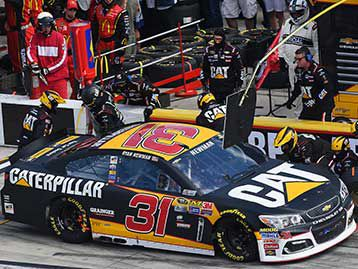 Check out the Cat Racing Team's race results during the 2016 NASCAR Sprint Cup race season.