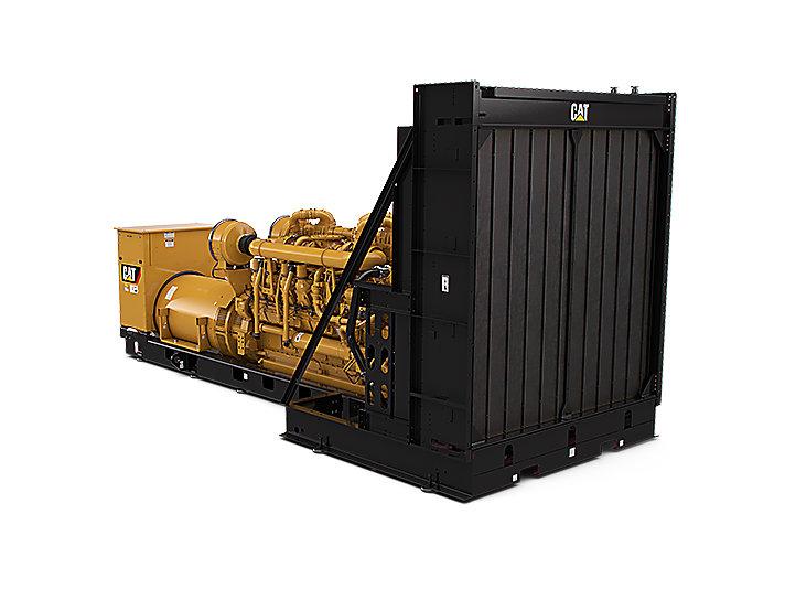 Diesel-Stromaggregate 3516E (Rückansicht)