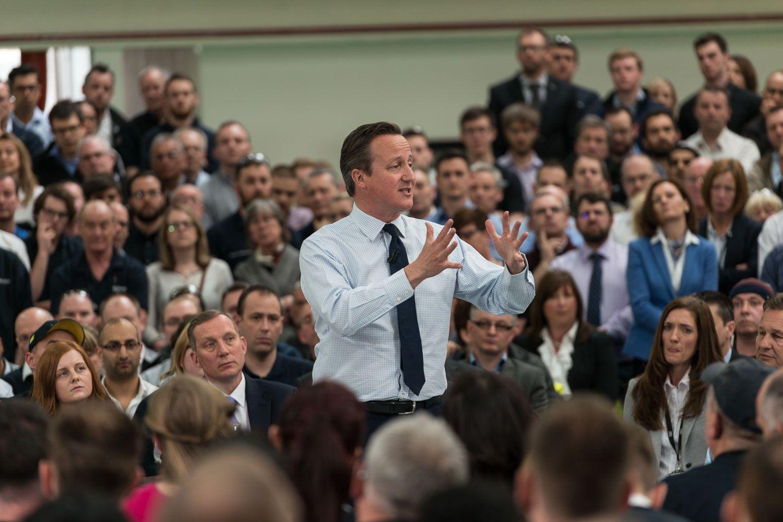 UK Prime Minister, David Cameron, visits our Peterborough facility