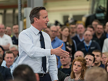 UK Prime Minister, David Cameron, visited our Peterborough facility