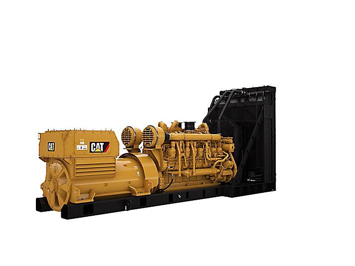 3516E 패키지 발전기 세트 - 고전압