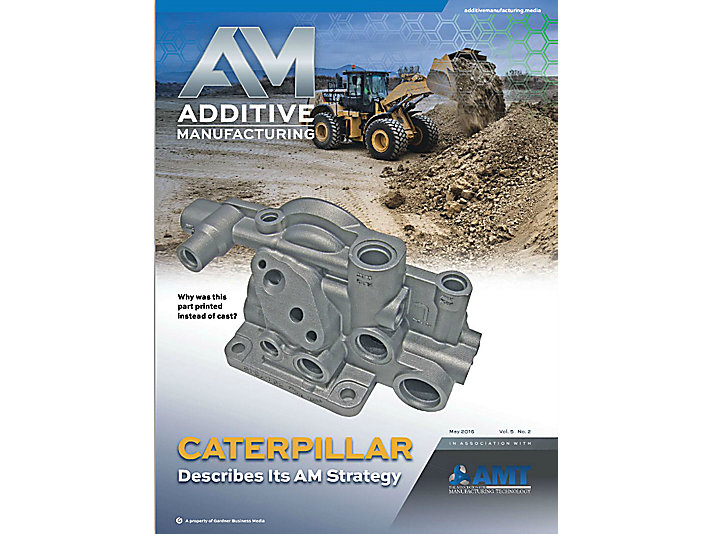 Caterpillar Additive Manufacturing Featured in AM Magazine