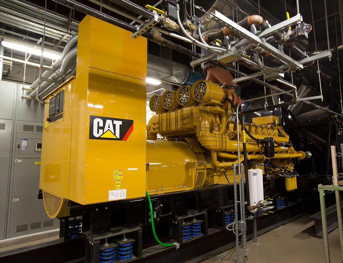 Intergate.Manhattan is supported by four Cat® C175 diesel generator sets that provide emergency power systems for critical operations.