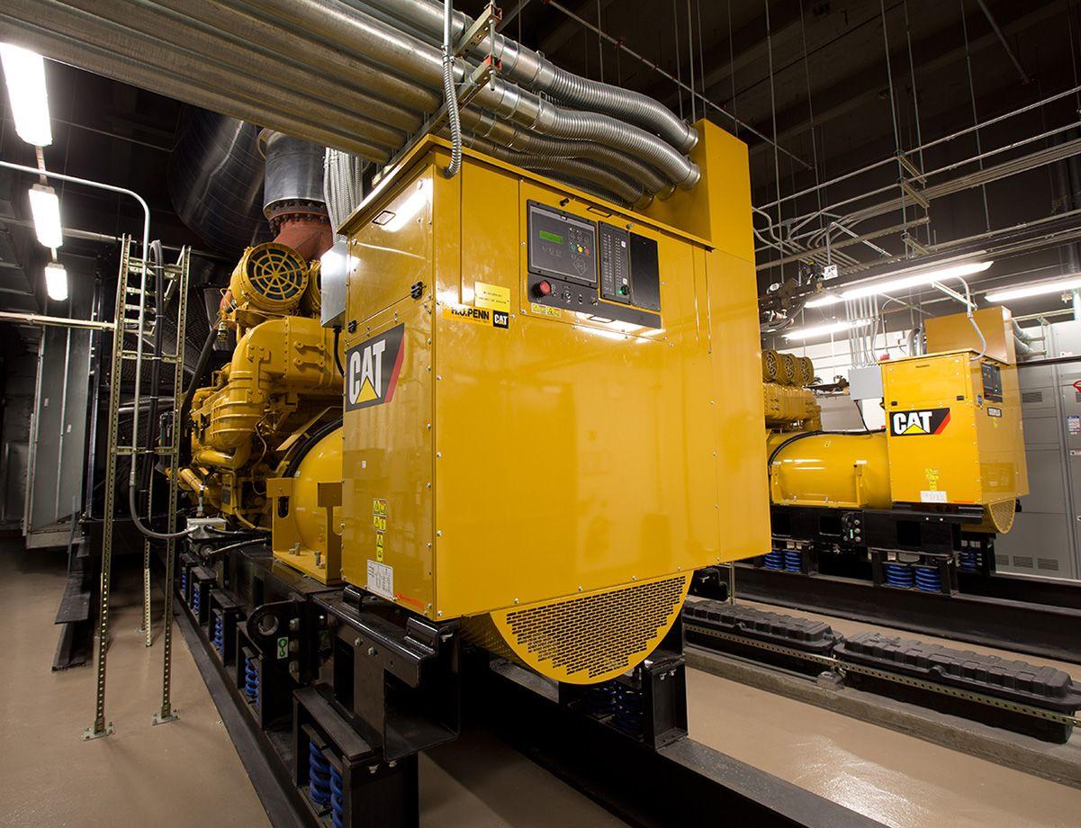 The C175 generator set.