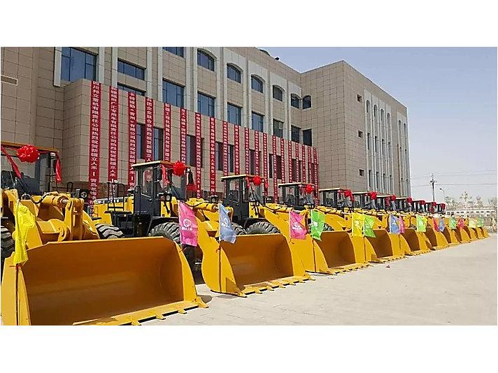 山工机械吉尔吉斯斯坦项目交机仪式现场
