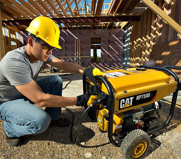 portable generators provide power for work. Take this mobile generator with you on the go.