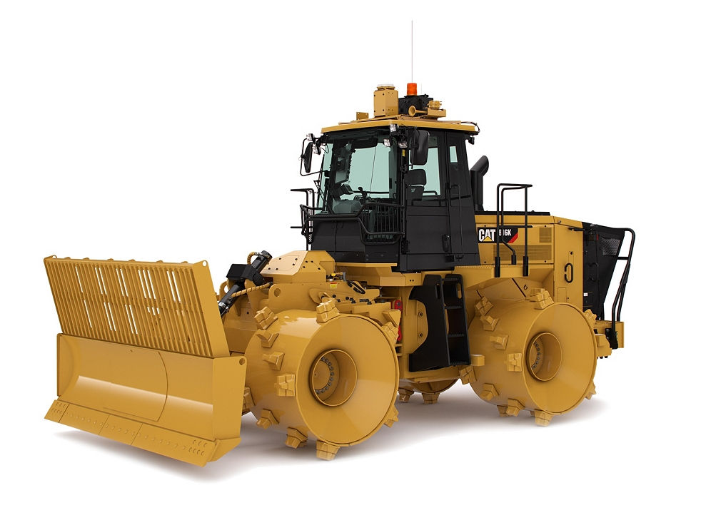 Landfill Compactor Maintenance : New k landfill compactor for sale whayne cat