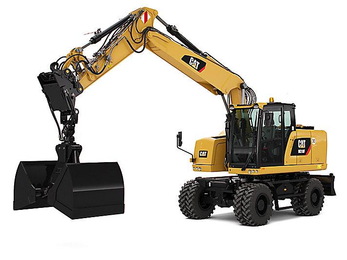 Excavadora de Ruedas M318F
