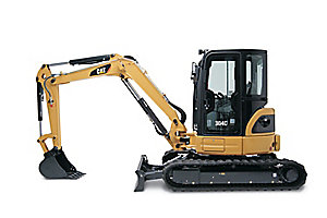 304C CR Mini Hydraulic Excavator