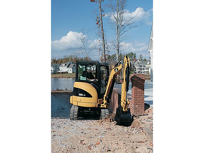 303C CR Mini Hydraulic Excavators