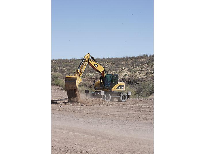 M318D Wheel Excavators