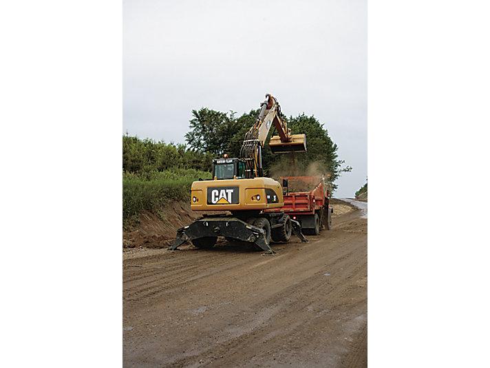 Escavadeiras de Rodas M318D