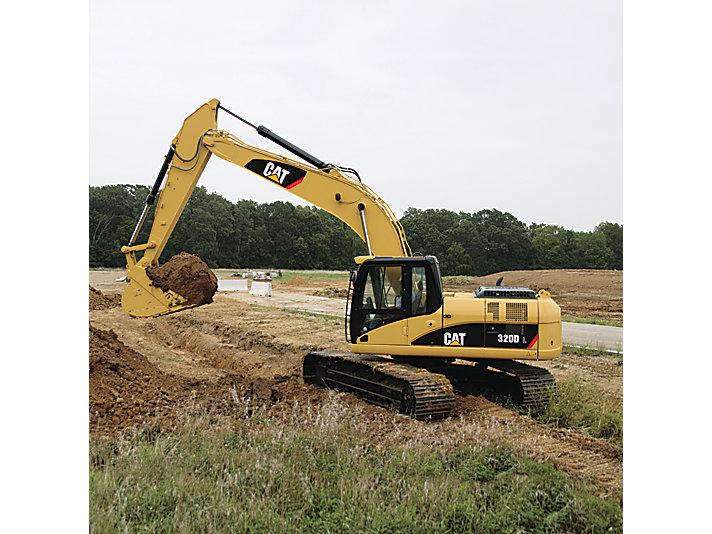 320D/320D L Medium Excavator