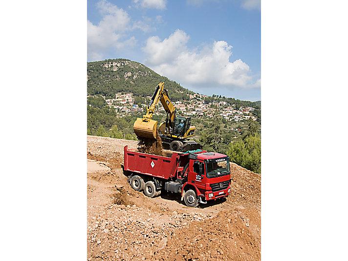 M322D Wheel Excavators