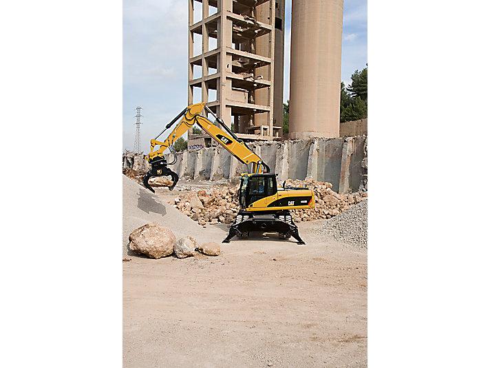 Excavadoras de ruedas M322D