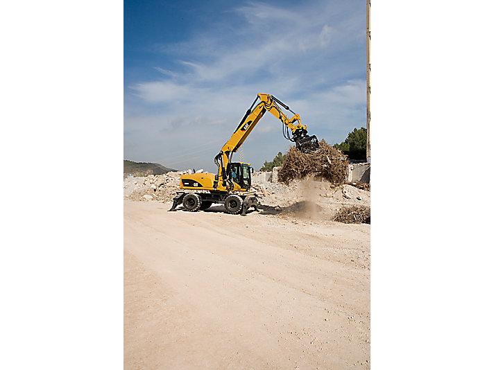 Escavadeiras de Rodas M322D