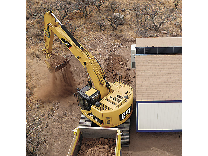 Excavadora Hidráulica Mediana 328D LCR
